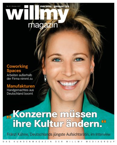 Cover des willmy magazins 12